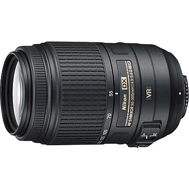 Nikon® AF-S DX NIKKOR 55-300mm f/4.5-5.6G ED VR Lens, Black