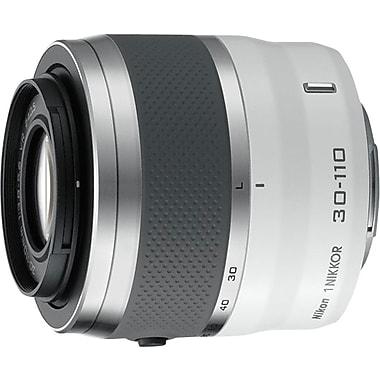 Nikon® - Objectif 1 NIKKOR VR 30-110 mm f/3,8-5,6, blanc