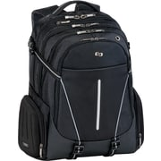 Solo Exclusives Collection Active 17.3 Backpack, Black/Grey
