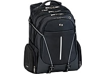 Solo Exclusives Collection Active 17.3' Backpack, Black/Grey
