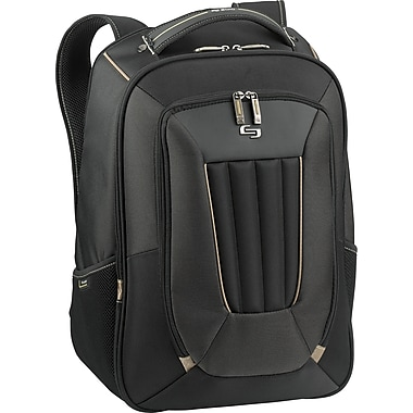 Solo Exclusives Collection Pro 17.3in. Backpack, Black/Grey