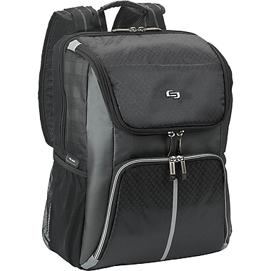 Solo Exclusives Collection Active 15.6in. Backpack, Black/Grey