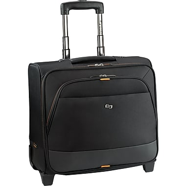 Solo Exclusives Collection Urban Rolling Overnighter Case, Black