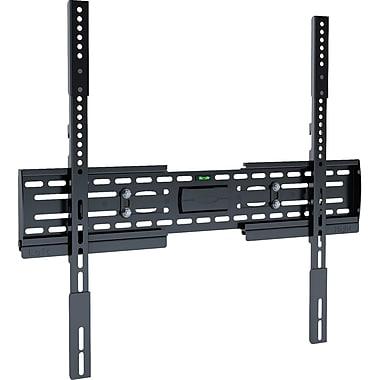 CorLivingMC – Support mural fixe pour téléviseur à écran plat de 26 à 65 po, noir