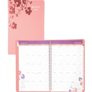2014 AT-A-GLANCE® Wandering Bloom Professional Weekly/Monthly Appointment Book, 8 1/2 x 11