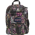 Jansport Big Student Backpack,  Pink Pansy Safari