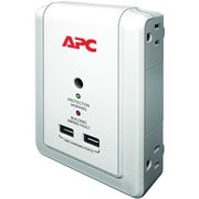 APC® 4-Outlet 1080 Joules Wall Mount with USB Surge Protector
