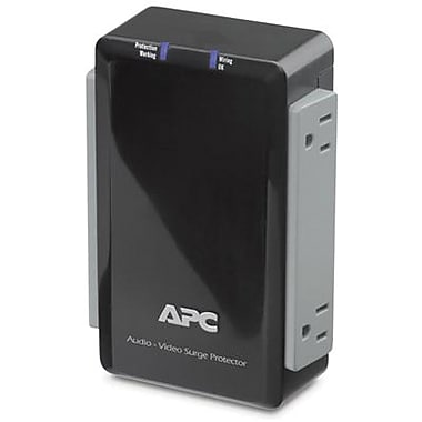 APC® 4-Outlet 1700 Joules Audio/Video Surge Protector