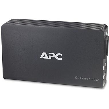 APC® 120V AV C Type 2-Outlet 1890 Joules Wall Mount Power Filter
