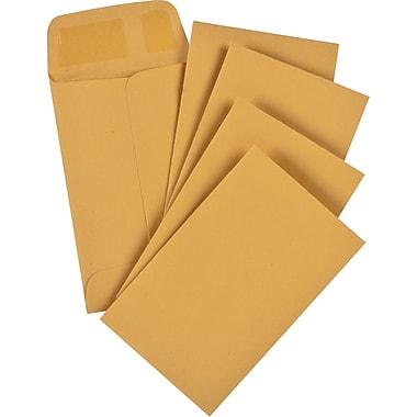 Staples® Envelopes Kraft Coin #1, 2-1/4