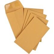 """Staples® Envelopes Kraft Coin #3, 2-1/2"""" x 4-1/4"""", 250/Box - Gummed"""
