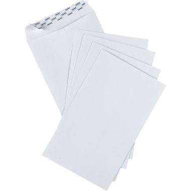 Staples® – Enveloppes blanches, 5 7/8 po x 9 5/8 po, bte/25 - bande adhésive