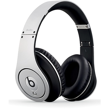 Beats By Dr. Dre Studio Over-Ear Headphone, Silver