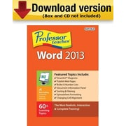Individual Software Professor Teaches Word 2013 for Windows (1-User)  [Download]
