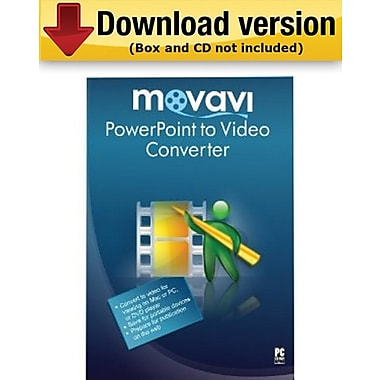 Movavi PowerPoint to Video Converter 2.1 for Windows (1-User)
