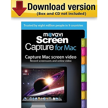 Movavi Screen Capture Business Edition for Mac (1-User) [Download]