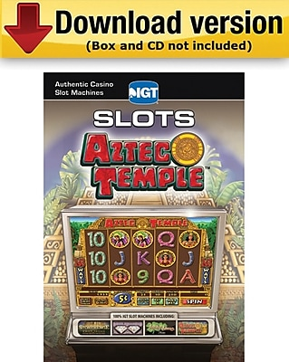 Encore IGT Slots Aztec Temple for Windows 1 User [Download]