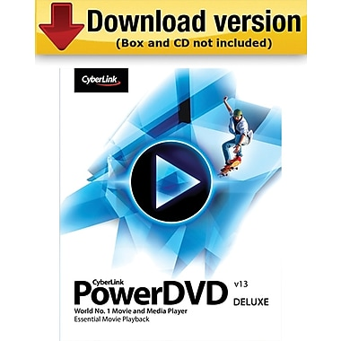 CyberLink PowerDVD 13 Deluxe for Windows (1-User) [Download]