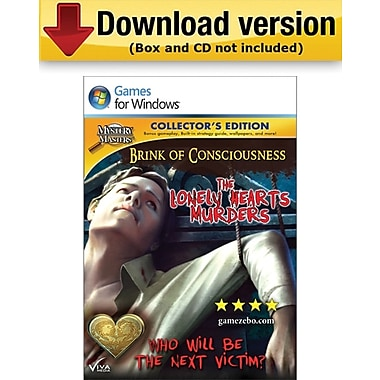 Brink of Consciousness: Lonely Hearts Murders - Collector's Edition for Windows (1-User) [Download]