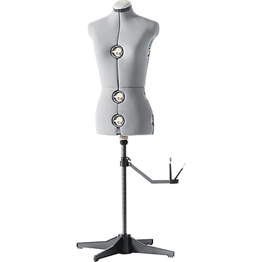 Singer 151 Adjustable Dressform, Large, Gray