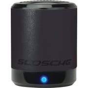 Scosche boomCAN Portable Media Speaker, Black