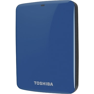 Toshiba Canvio® Connect 2TB Portable Hard Drive (Blue)