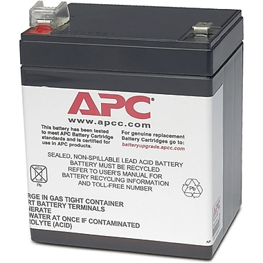APC® Replacement Battery Cartridge, RBC45