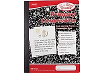Staples® Primary Composition Book, 9 3/4' x 7 1/2'
