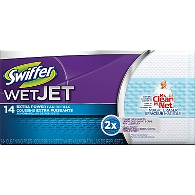 Swiffer Wet Jet Refill Extra Power, 14/Pack