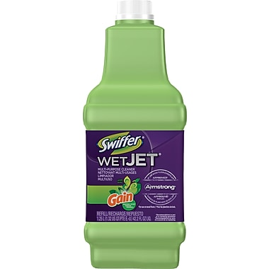Swiffer Wet Jet Multi-Purpose Refill Solution with Gain