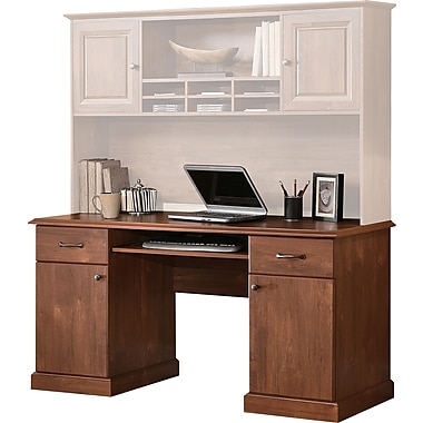 Whalen Leadenhall Credenza, Medium Cherry