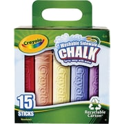 Crayola Washable Sidewalk Chalk 16/Pack
