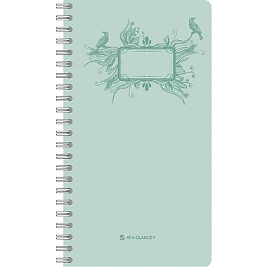 "2014 AT-A-GLANCE® Poetica Weekly/Monthly Planner, 3 3/4"" x 6 3/4"""
