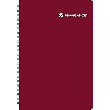 2014 AT-A-GLANCE® Poppies Weekly/Monthly Appointment Book, 5 1/2in. x 8 1/2in.