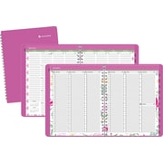 2014 AT-A-GLANCE® Passion Flower Weekly/Monthly Planner, 8 1/2 x 11