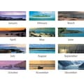 "2014 AT-A-GLANCE® Seascape Panoramic Desk Pad, 22"" x 17"""