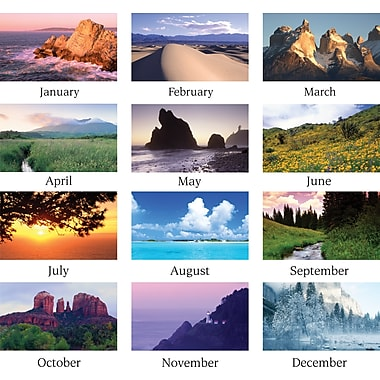 "2014 AT-A-GLANCE® Scenic Wall Calendar, 15 1/2"" x 22 3/4"""