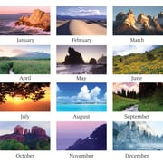 2015 AT-A-GLANCE® Scenic Wall Calendar, 15 1/2 x 22 3/4