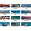 "2014 AT-A-GLANCE® Harbor Views Panoramic Desk Pad, 22"" x 17"""