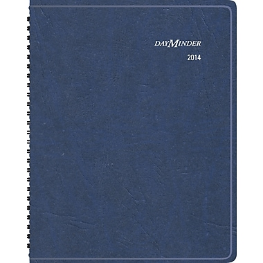 "2014 DayMinder® Scenic Weekly/Monthly Planner, 8 1/4"" x 10 7/8"""