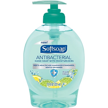 Softsoap® Antibacterial Handwash Soap, Fresh Citrus, 7.5 oz