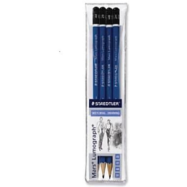 Staedtler-Mars® Lumograph set of 4 Drawing Pencils