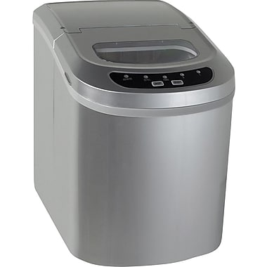 Avanti 10in. Countertop Ice Maker, Stainless Steel