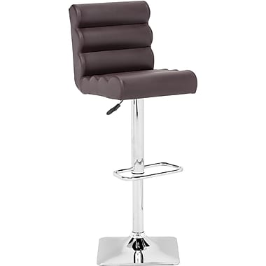 Zuo® Leatherette Nitro Bar Stool, Espresso