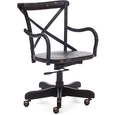 Zuo® Union Square Elm Wood Mid Back Office Chairs