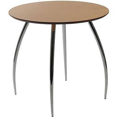 Euro Style™ Bistro 30in. Round MDF Table, Natural