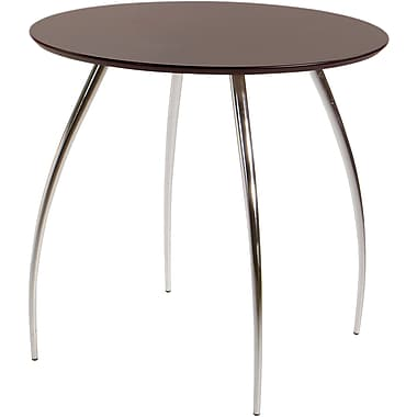Euro Style™ Bistro 30in. Round MDF Table, Wenge
