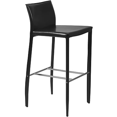 Euro Style™ Shen-B Leather Bar Stools