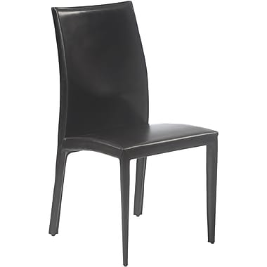 Euro Style™ Dafney Leather Dining Side Chairs