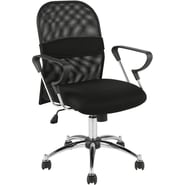 Euro Style™ Marlin Mesh Office Chair, Black